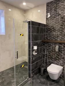 Ванная комната в Гостиница Солнечный Ветер