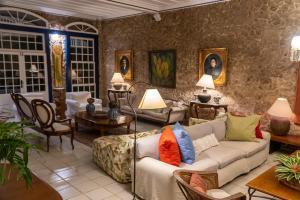 Uma área de estar em Pousada Porto Imperial