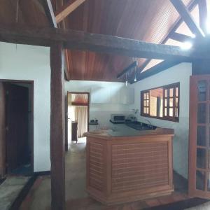 A kitchen or kitchenette at Pousada Solar dos Vieiras
