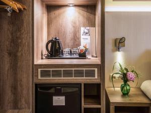 Küche/Küchenzeile in der Unterkunft Mercure Oostende