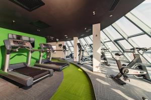 Centrul de fitness și/sau facilități de fitness de la Holiday Inn Bucharest - Times, an IHG Hotel