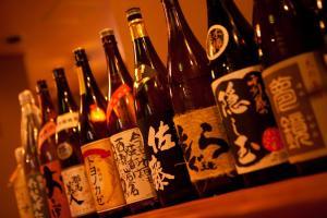 Drinks at Ryokan Kappo Sekiya