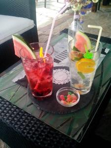 "Drinks at Hotel ""Finca El Solar"" Burger-Gintonic Bar"