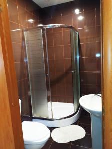 A bathroom at Отель Home
