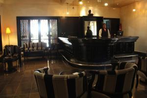 The lounge or bar area at Borj Dhiafa