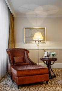A seating area at Lotte Hotel Moscow - The Leading Hotels of the World