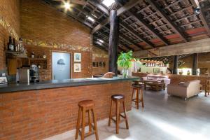 O lounge ou bar de Pousada Olho D'Água