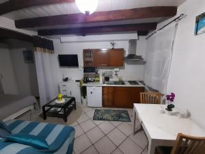 A kitchen or kitchenette at Apartment The old house
