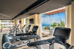 The fitness center and/or fitness facilities at Hyatt Ziva Puerto Vallarta