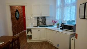 Kuchnia lub aneks kuchenny w obiekcie Apartament MORE