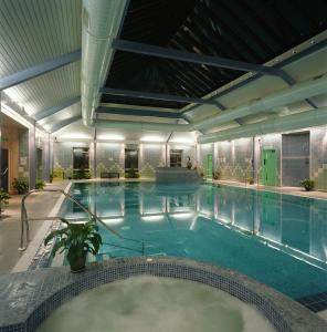 The swimming pool at or near Elfordleigh Hotel