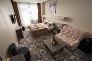 Кровать или кровати в номере 12th Floor Apartments