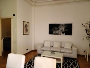 A seating area at Villa Florencia