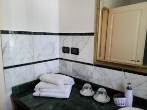 A bathroom at Villa Florencia