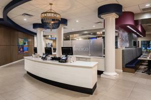 The lobby or reception area at Hotel Indigo Charleston - Mount Pleasant, an IHG Hotel