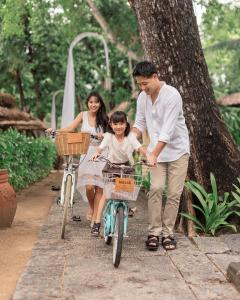 Cycling at or in the surroundings of Melia Bali