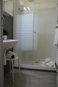 A bathroom at Sea Side