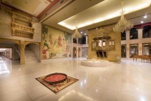 The lobby or reception area at Fort Rajwada
