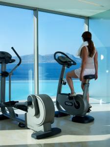 Centrum fitness w obiekcie Lindos Blu Luxury Hotel-Adults only
