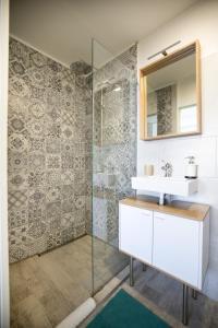 A bathroom at La Musica