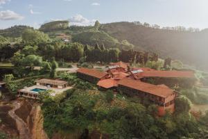 A bird's-eye view of Pousada Pedra Azul