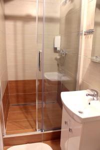 Koupelna v ubytování Penzion Vulture Ostrava