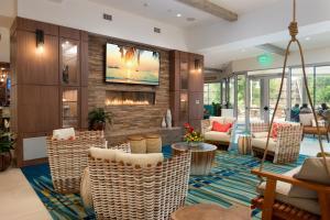 The lounge or bar area at Margaritaville Resort Gatlinburg