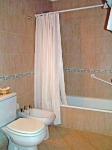 Un baño de Posada Karut Josh