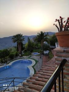 A view of the pool at Hotel y Bungalows Balcón de Competa or nearby