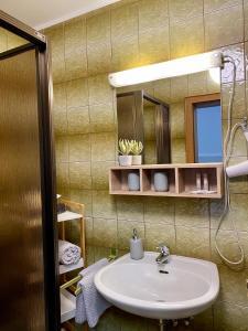 A bathroom at Haus Dietrich am Red Bull Ring
