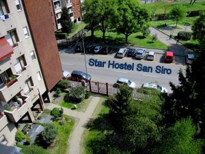 Vue panoramique sur l'établissement Star Hostel San Siro Fiera