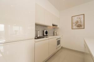 A kitchen or kitchenette at Urban Luxury Apartment
