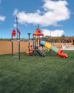 Children's play area at Seven Elements Resort