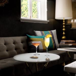 Zona de estar de Maison 140 Beverly Hills