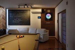 ゲストハウス Saiにあるシーティングエリア