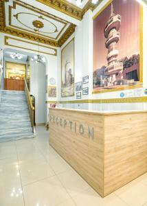 The lobby or reception area at Nea Metropolis