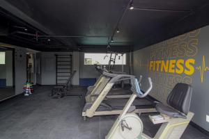 The fitness center and/or fitness facilities at Belo Horizonte Plaza