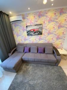 Гостиная зона в Apartments on Kosmonavtov 5
