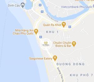 Victoria Phu Quoc hotel с высоты птичьего полета