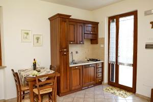 Cucina o angolo cottura di Agriturismo La Castellana
