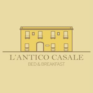 The floor plan of Antico Casale B&B