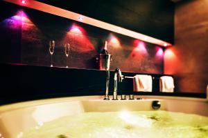 A bathroom at Best Western Premier Hotel International Brno