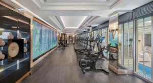 The fitness center and/or fitness facilities at Four Seasons Hotel George V Paris