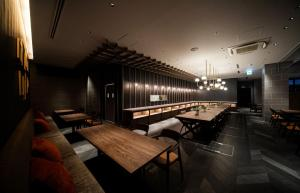 A restaurant or other place to eat at GRIDS PREMIUM HOTEL OSAKA NAMBA