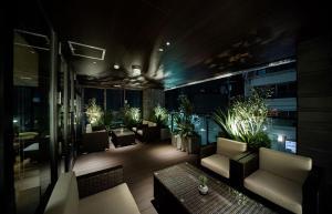 The lobby or reception area at GRIDS PREMIUM HOTEL OSAKA NAMBA