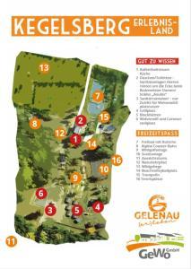 Grundriss der Unterkunft Wohnmobilstellplatz Erlebnisland Kegelsberg