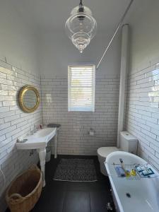 A bathroom at Webster Terrace