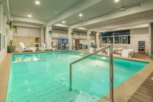 The swimming pool at or near Hampton Inn By Hilton Tijuana