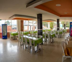 A restaurant or other place to eat at Playa Blanca - El Mana
