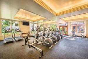 The fitness center and/or fitness facilities at Grand Hyatt Kauai Resort & Spa